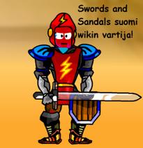 Swords and Sandals suomi wikin vartija