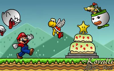 Mario wants Cake