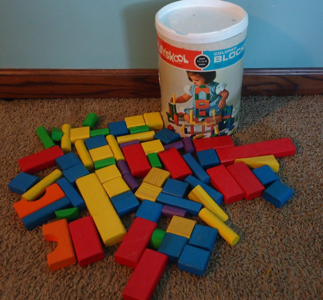 Wooden Coloured Blocks By Playskool Property Collections Wiki