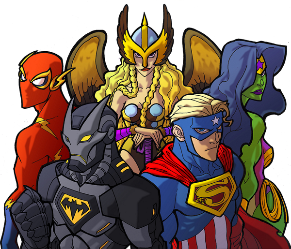 Avenging league of america by nomorepalo