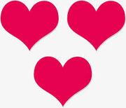 Сердца любовного треугольника