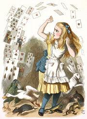 Колода карт и Алиса