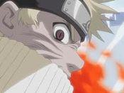 Naruto's Nine tails Charka
