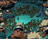Naruto Clones VS Mizuki