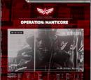 Operation: Manticore