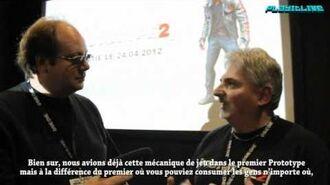 Paris Games Week David Fracchia Prototype 2 Interview - Console-toi.fr