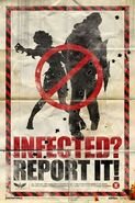 Infected report it