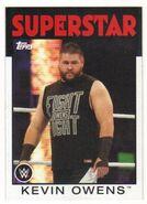 2016 WWE Heritage Wrestling Cards (Topps) Kevn Owens 22