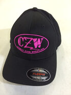 CZW Pink Stitch Flex Fit Hat