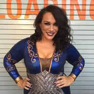 Nia Jax Backstage
