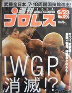 Weekly Pro Wrestling 1209