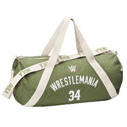 WrestleMania 34 Canvas Duffel Bag