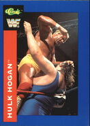 1991 WWF Classic Superstars Cards Hulk Hogan 91