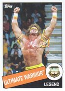 2015 WWE Heritage Wrestling Cards (Topps) Ultimate Warrior 47