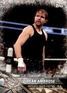 2017 WWE Road to WrestleMania Trading Cards (Topps) Dean Ambrose 9