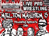 NAW Melton Mayhem III