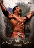 2016 Topps WWE Undisputed Wrestling Cards Batista 44