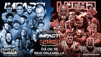 Impact Wrestling vs. Lucha Underground poster