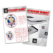 John Cena HLR Sticker Sheet
