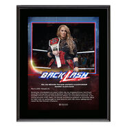 Nia Jax BackLash 2018 10 x 13 Photo Plaque
