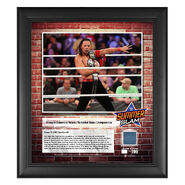 Shinsuke Nakamura SummerSlam 2018 15 x 17 Framed Plaque w Ring Canvas