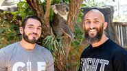 Superstars visit Sydney Zoo.2