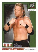 2008 WWE Heritage IV Trading Cards (Topps) Curt Hawkins 13