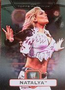 2010 WWE Platinum Trading Cards Natalya 68