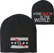 CM Punk Best In The World Knit Beanie Cap