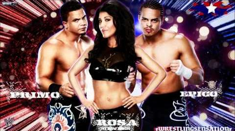 "Epico,Primo & Rosa Mendes 1st WWE Theme Song - ""Barcode"" (WWE Edit) HQ+Download Link"