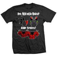 Legion of Doom Makeup & Spikes T-Shirt