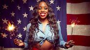 Naomi July 4th WWE Photo Shoot