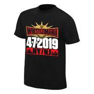 WrestleMania 35 Kickoff T-Shirt