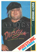 1985 Wrestling All Stars Trading Cards Dusty Rhodes 7