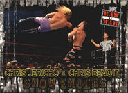 2001 WWF RAW Is War (Fleer) Chris Jericho vs. Chris Benoit 94