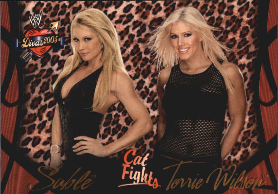 2004 WWE Divas 2005 (Fleer) Sable & Torrie Wilson (No.64)   Pro ...