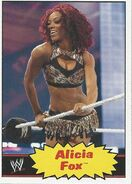 2012 WWE Heritage Trading Cards Alicia Fox 4