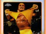 2015 Chrome WWE Wrestling Cards (Topps) Hulk Hogan (No.83)