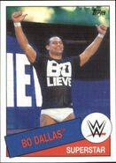 2015 WWE Heritage Wrestling Cards (Topps) Bo Dallas 64