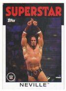 2016 WWE Heritage Wrestling Cards (Topps) Neville 26