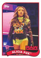 2018 WWE Heritage Wrestling Cards (Topps) Alicia Fox 4