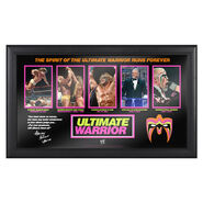Ultimate Warrior Evolution of a Hall of Famer Plaque