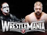 WrestleMania 31 Sting v Triple H