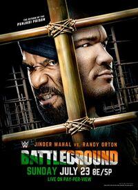 WWE Battleground 2017 poster