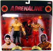 WWE Wrestling Adrenaline Series 35 Evan Bourne & Rey Mysterio