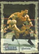 2004 WWE Chaos (Fleer) Batista (No.5)