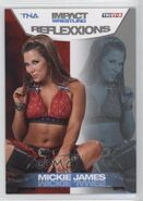 2012 TNA Impact Wrestling Reflexxions Trading Cards (Tristar) Mickie James 19