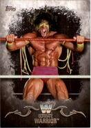 2016 Topps WWE Undisputed Wrestling Cards Ultimate Warrior 96