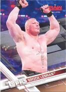 2017 WWE Wrestling Cards (Topps) Brock Lesnar 10