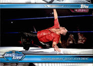 2019 WWE Road to WrestleMania Trading Cards (Topps) Shinsuke Nakamura 66